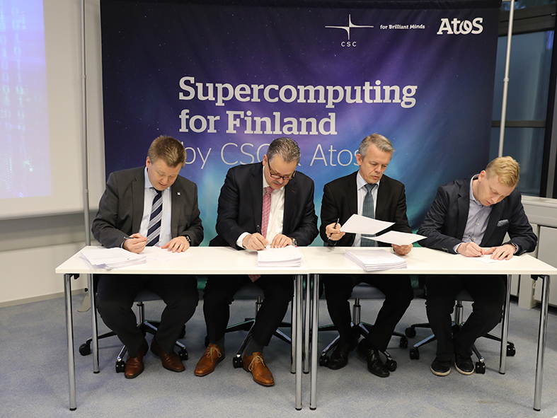 CSC - Finland takes a giant leap in research and development
